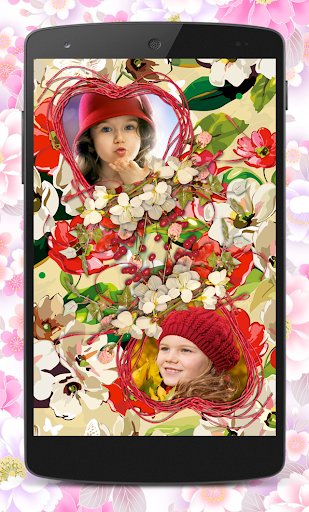 玩免費攝影APP|下載Flower Couple Collage Frames app不用錢|硬是要APP