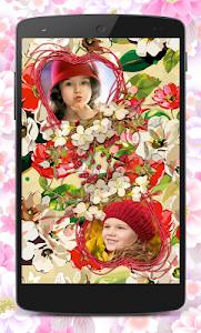 Flower Couple Collage Frames screenshot 6