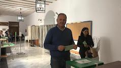 El alcalde cuevano Antonio Fernández el pasado 2 de diciembre.