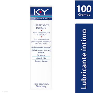 Lubricante íntimo K-Y   gel Transparente x100g.