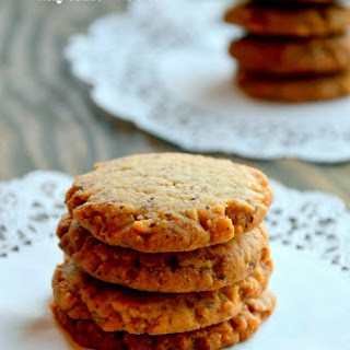 "Eggless Honey Cardamom ""Anytime"" Cookies."
