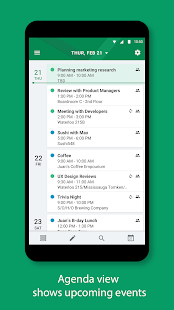 BlackBerry Hub+ Kalender Screenshot