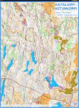 Photo: Running / walking 18.11.2012 in Luukki, Espoo with a Karttapullautin  map