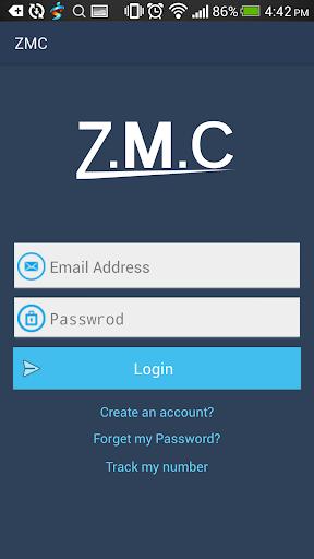 ZMC Customer Applicaiton
