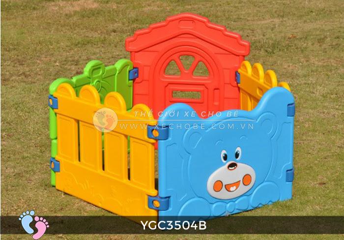 Nhà banh mini cho bé YGC-3504B 2