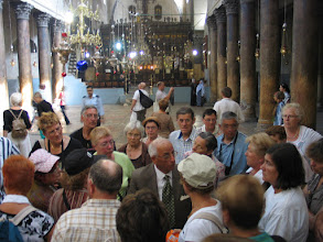 Photo: Bethléem avec le guide du jour