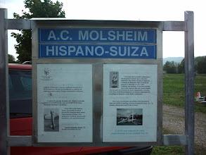 Photo: Le panneau d'affichage en 2004