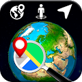 3D Earth Globe: World Map Panorama & 360 Satellite APK