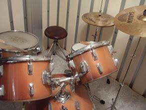 Photo: 完成してドラムを設置したところ