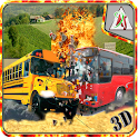 School Bus Demolition Crash icon