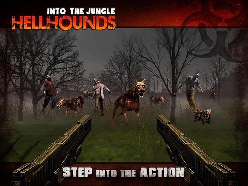 进入丛林地狱猎犬:僵尸射击游戏的惊心动魄