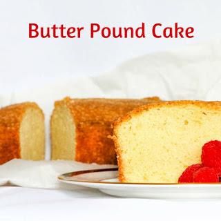 Butter Pound Cake.