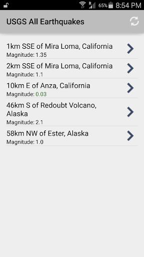 Earthquake Monitor