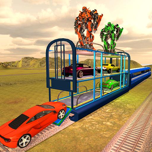 Multi Level Smart Train Car Parking: Parking Games
