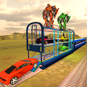 Multi Level Futuristic Train Smart Car Parking