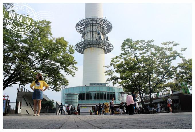 韓國首爾塔  愛情鎖牆