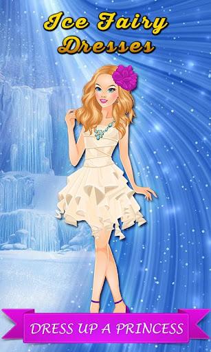 氷の妖精のドレス