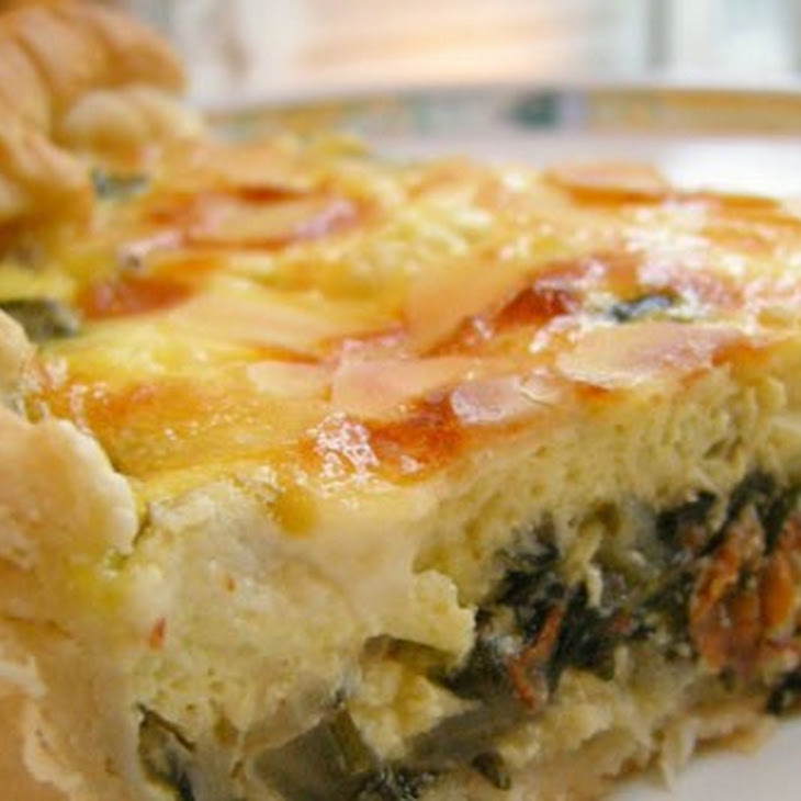 Swiss Chard and Goat Cheese Quiche Recipe