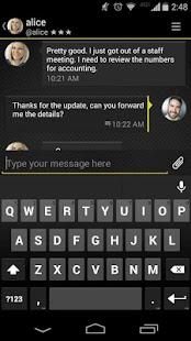 Silent Text - secure messages- screenshot thumbnail