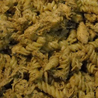 Pesto Chicken & Pasta.