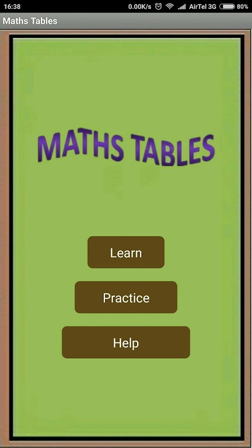 Printables 1to20table maths tables android apps on google play screenshot