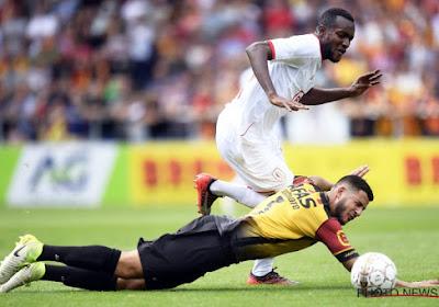 Elias Cobbaut en Ahmed El Messaoudi (KV Mechelen) staan in de belangstelling van AZ