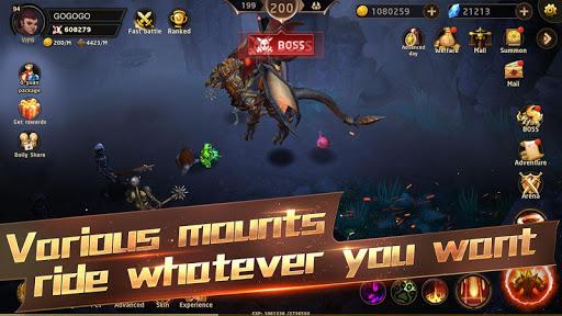 Hunter Legend : Chaos dungeons - Idle RPG screenshots 4