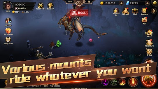 Hunter Legend : Chaos dungeons – Idle RPG Apk Download For Android and Iphone 4
