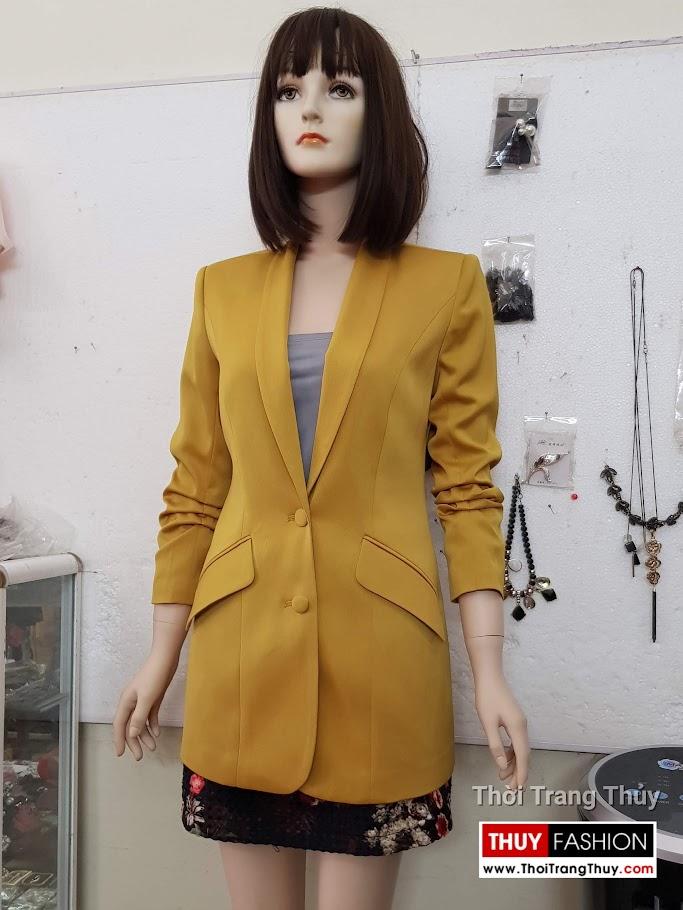 Áo vest nữ vải lụa tay xếp ly V691 thời trang thuỷ hải phòng 2