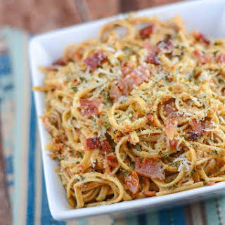 Sun-Dried Tomato Pesto Pasta.