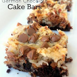 German Chocolate Cake Bars.