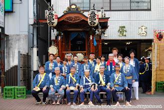 Photo: 【平成19年(2007) 宵宮】 囃子保存会の記念撮影。