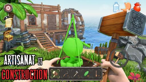Télécharger gratuit Survival Raft: La survie sur l'île - Simulateur APK MOD 2