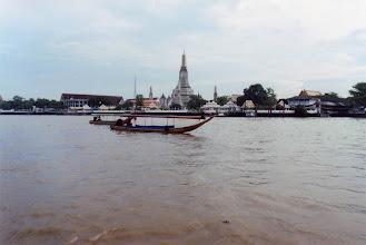 Photo: #018- La rivière Chao Phraya ou Ménam-Bangkok