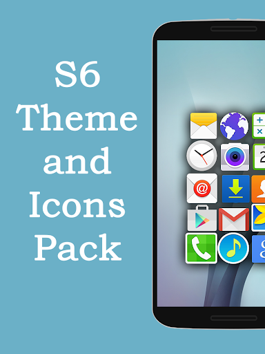 S6 Launcher Theme Icons Pack