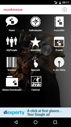 Musikmesse Navigator