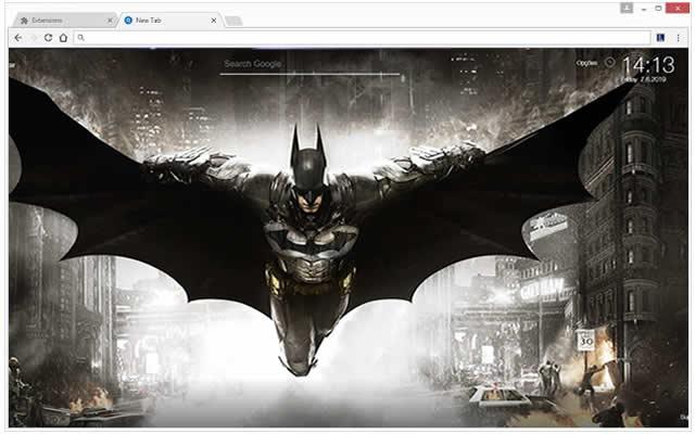 Batman Papel de Parede Tab Themes