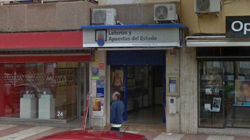 Imagen captura de la fachada de la administración.