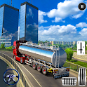 Offroad Hill Side Oil Tanker Transporter Cargo icon