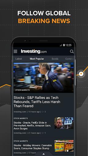 Investing.com: Stocks, Finance, Markets & News 6.3.2 Screenshots 3