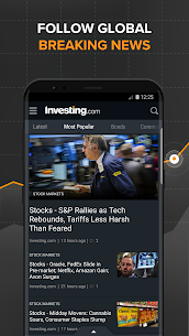 Investing.com: Stocks, Finance, Markets & News App Latest Version Download For Android and iPhone 3