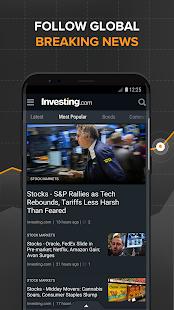 App Investing.com: Stocks, Finance, Markets & News APK for Windows Phone