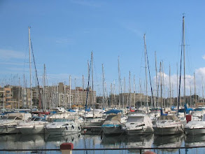 Photo: La Vallettan marina