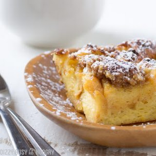 Butterscotch French Toast Bake.