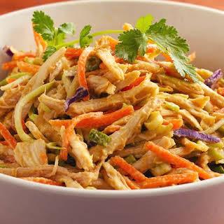 Shredded Thai Chicken Salad.
