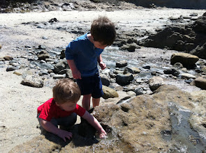 Photo: Brothers at Low Tide