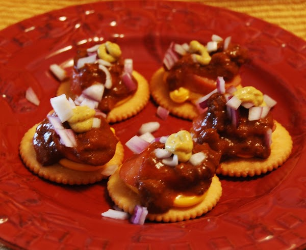 Chili Cheese Dog Poppers Recipe