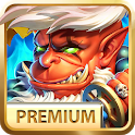 Defense Warrior Premium: Castle Battle Offline icon