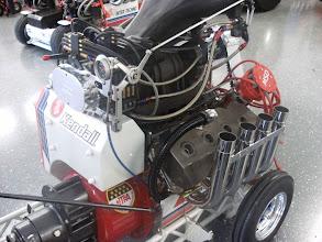 Photo: De mini momenteel in onderhoud. De motor heeft zich goed gehouden. Nogmaals bedankt voor het laswerk van Ultra-Lite. De motor is lekvrij!!!