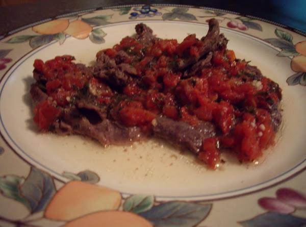 Ciao Bella Venison Pizziola Recipe